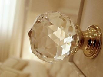 Maniglie in cristallo SWAROVSKI®.