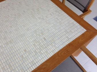 Piano in mosaico di marmo